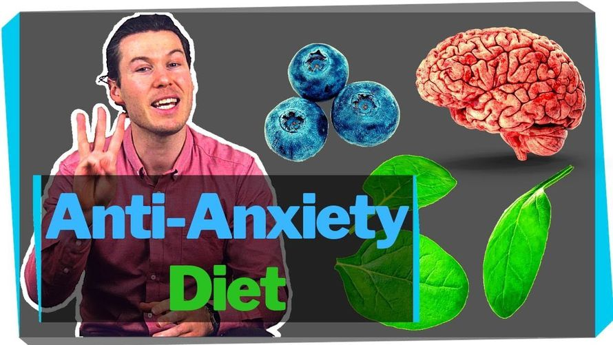 ANXIETY and DIET: The 3 key ways food affects your brain [What the Research says]